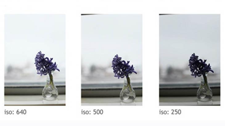 Значения ISO