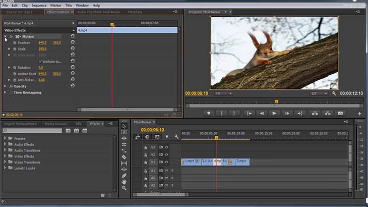 Видеоредактор Adobe